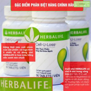 Cell U Loss Herbalife chính hãng