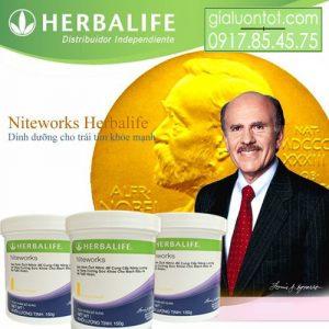Herbalife Niteworks dinh dưỡng cho tim mạch khỏe mạch