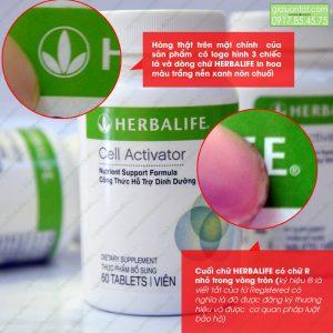 Sử dụng Cell Activator Herbalife mỗi ngày để có sức khỏe tốt