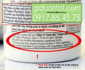 Công ty THNN Herbalife Việt Nam phân phối trực tiếp sản phẩm