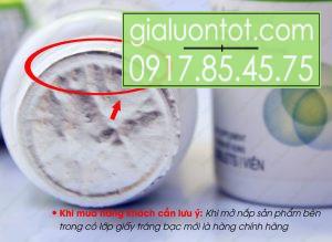 Vỏ sản phẩm được bảo vệ bằng lớp giấy bạc