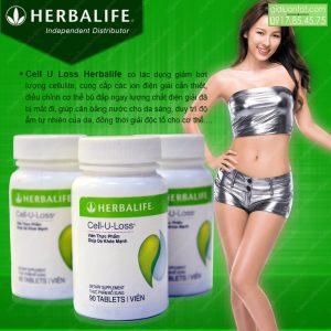 Thực phẩm Cell U Loss Herbalife cho làn da khỏe mạnh
