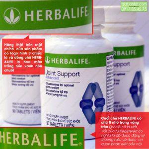Sản phẩm Glucosamine Herbalife chính hãng