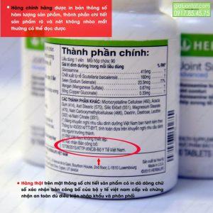 Chứng nhận bộ y tế Việt Nam được in rõ ràng