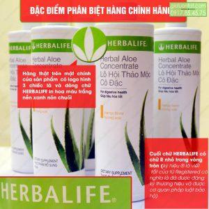 Sản phẩm nước lô hội Aloe Herbalife chính hãng
