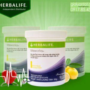 Thực phẩm chức năng Niteworks Herbalife bảo vệ sức khỏe tim mạch