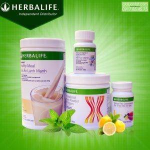 Bộ 4 giảm cân Herbalife hỗ trợ giảm cân hiệu quả