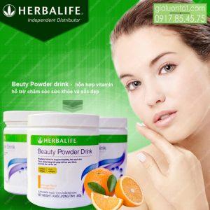 Beauty Powder Drink Herbalife hỗ trợ chăm sóc sắc đẹp và sức khỏe