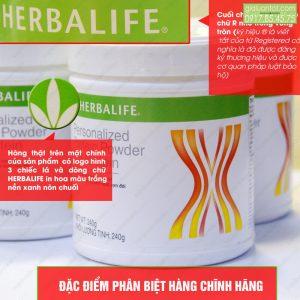 Bột giảm cân Herbalife