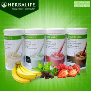Sữa Herbalife F1 giúp kiểm soát cân nặng hiệu quả