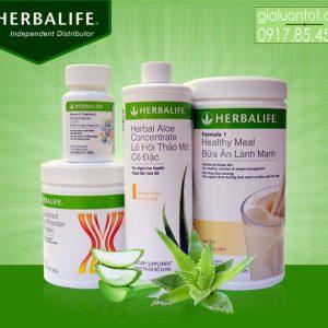 Bộ 4 Herbalife hỗ trợ tăng cân nhanh cho người gầy