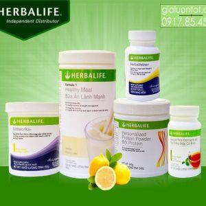 Bộ 5 hỗ trợ tim mạch, huyết áp Herbalife