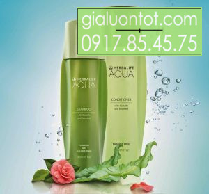 Bộ dầu gội và dầu xả Herbalife Aqua