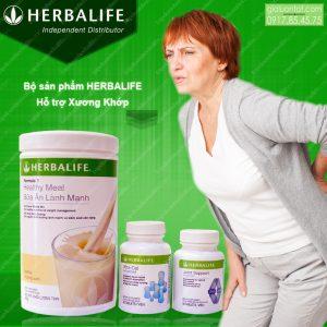 Bộ sản phẩm chăm sóc sức khỏe xương khớp Herbalife