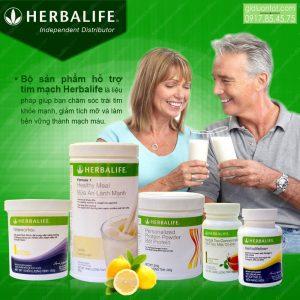 Cung cấp bộ sản phẩm Herbalife hỗ trợ tim mạch khỏe mạnh