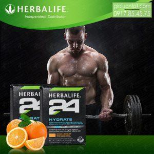 Bổ sung nước và ion điện giải với Hydrat Herbalife