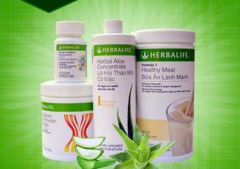 Các sản phẩm Herbalife hỗ trợ tăng cân nhanh tại Việt Nam