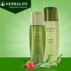Dầu gội aqua herbalife cho mái tóc luôn mềm mượt