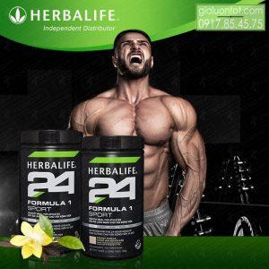 Cải thiện cơ bắp hiệu quả với Fomula 1 Sport Herbalife 24
