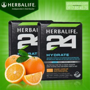 Herbalife 24 Hydrate bổ sung nước cho vận động viên