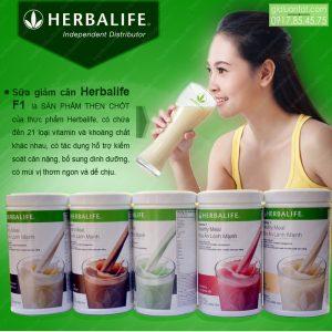 Sản phẩm sữa Herbalife F1
