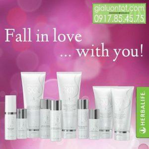 Sử dụng cả bộ mỹ phẩm Herbalife skin sẽ mang lại hiệu quả cao nhất