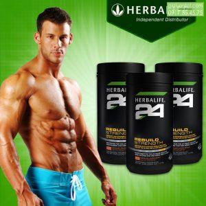 Tăng cường cơ bắp nhanh chóng Herbalife 24 Rebuild Strength