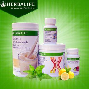 Bộ sản phẩm hỗ trợ giảm cân nhanh Herbalife