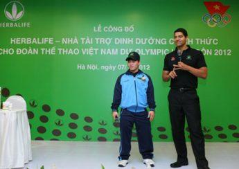Công ty Herbalife nhà tài trợ dinh dưỡng cho thể thao Việt Nam