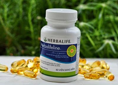 Dinh dưỡng cho tim mạch cùng omega 3 herbalifeline